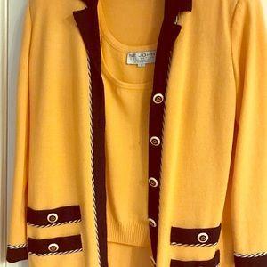 Classy St. John 3 Piece Suit